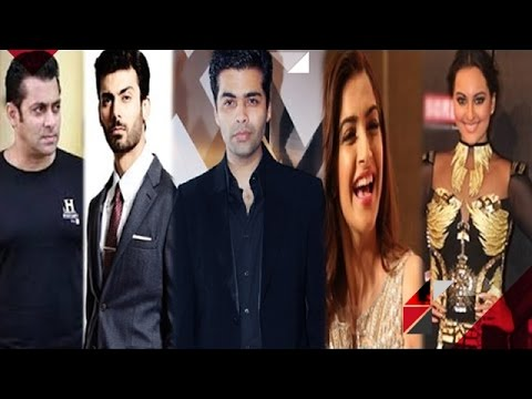 Salman  & Karan Distance Themselves From Fawad | Sonam Insults Sonakshi's Fashion Sense & More