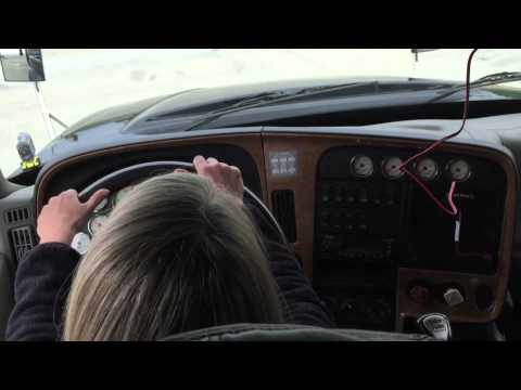 Kristi Drives the Big Rig (Part 1)