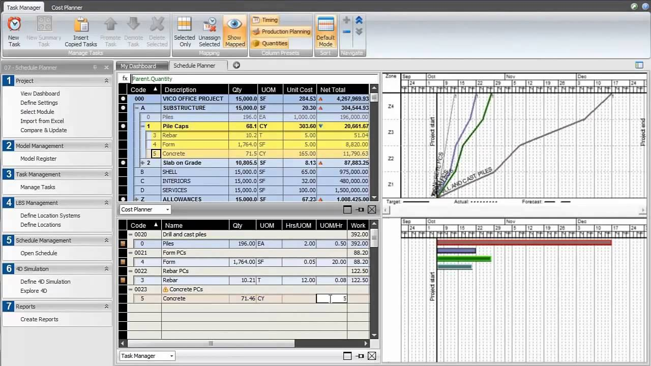 4d Bim Scheduling For Dummies Vico Software Youtube
