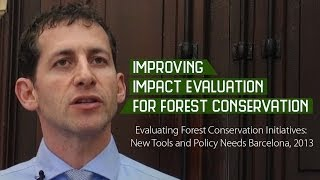 Improving impact evaluation for forest conservation