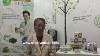 SimplyNature PPARS assisted Dr. Engie's Lung Cancer patients