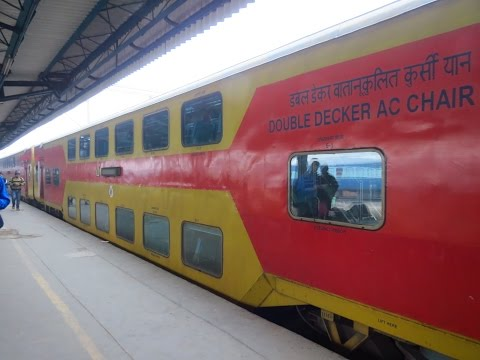 Full Journey Compilation : DELHI JAIPUR DOUBLE DECKER EXPRESS