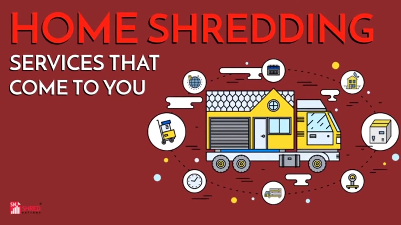 Home Shredding: Services That Come To You | Shred Nations
