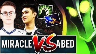 9k Miracle vs 10k Abed – EPIC Solo Mid Rubick – Ultimate Spell Master - DOTA 2