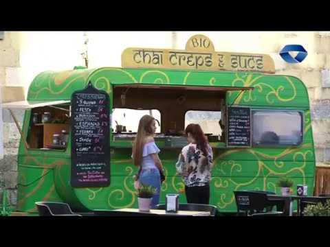 Van sobre ruedas Food Truck Market ekimena izan da asteburuan Goiko plazan