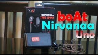 BoAt Nirvanaa Uno review - in-ear earphone for Rs. 999