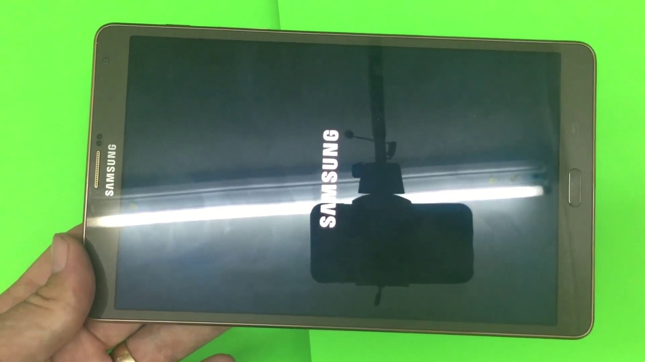 Hard reset Samsung Galaxy Tab S T705