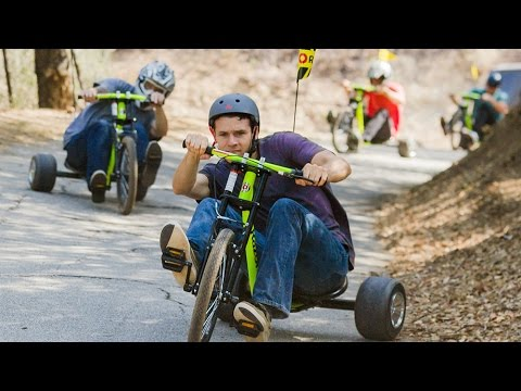 Razor DXT Drift Trike Ride Video