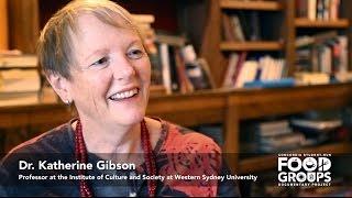 Katherine Gibson on the Economy as an Iceberg - Diagram