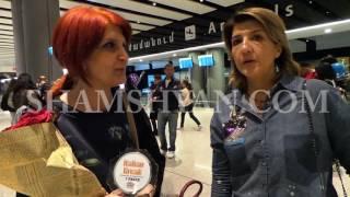 Իտալիայից Հայաստան ժամանեց «Italian Break» արվեստի միջազգային մրցույթին մասնակցած աղջիկների թիմը