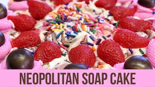 Neopolitan Soap Cake and a War