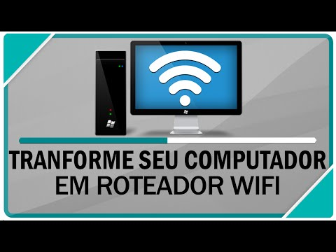 Como transformar seu PC em roteador Wifi