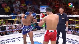 มวยไทย 7 สี 20 มี ค 59  คู่ที่ 4 คู่เอก  สะท้านฟ้า ส บุญครอง vs นนทกิจ ส จ เล็กเมืองนนท์ HD