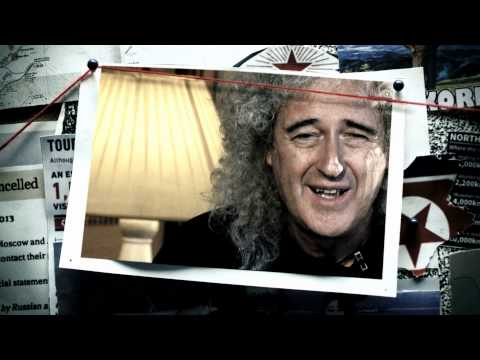 Brian May - Politicians put us at war but people just want a normal life