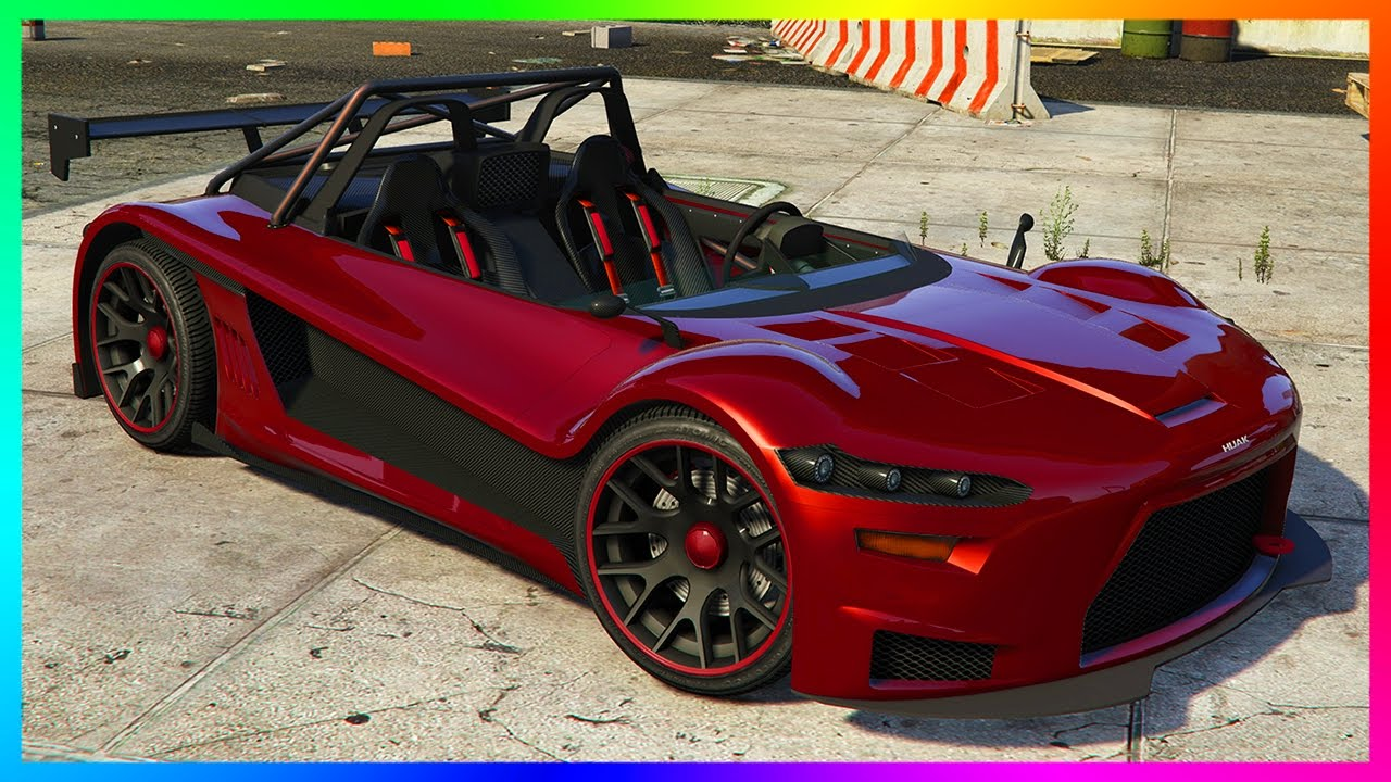 GTA ONLINE NEW DLC VEHICLE RELEASED   HIJAK RUSTON SPORTS CAR, GTA 5  CONTENT UPDATE FEATURES U0026 MORE!