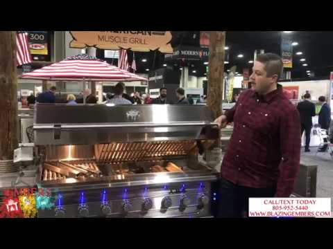 """American Muscle Grill 54"""" Huge Dual Fuel Gas Grill Product Review"""