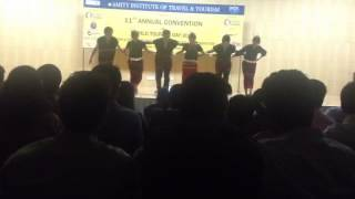 Amity university North east India (Adi dance) of Arunachal pradesh