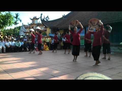 Trường Mầm non Thụy Ninh múa Đường Cày Đảm Đang