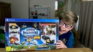 UNBOXING SKYLANDERS IMAGINATORS!! EPIC!