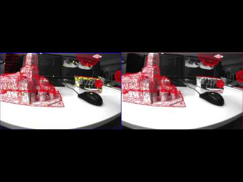SLAM for object tracking and augmented reality