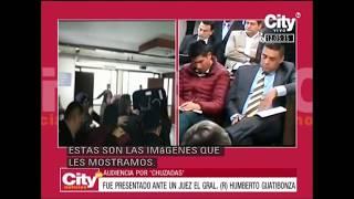 Así fue la llegada del general (r) Humberto Guatibonza a Paloquemao | CityTv
