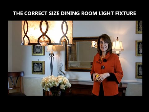 How to Choose a Dining Room Chandelier