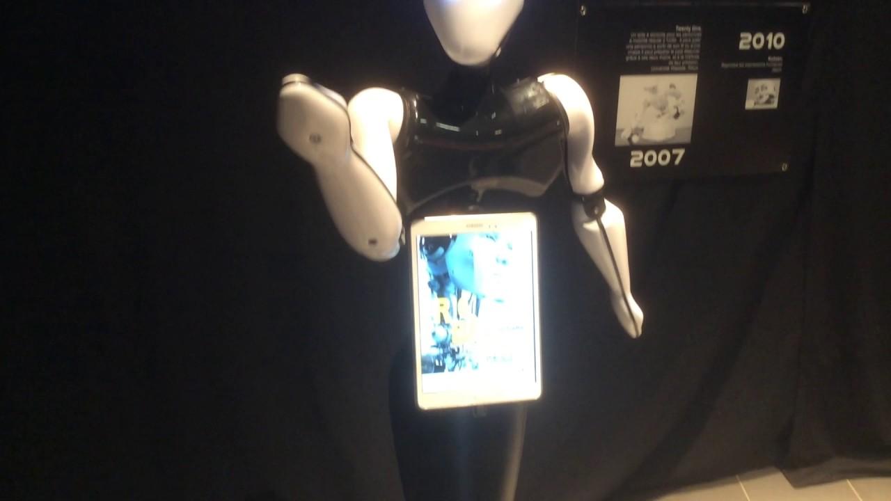 Tiki le robot humano de fabriqu en normandie youtube - Robot patissier fabrique en france ...