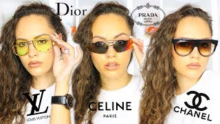 My Designer Sunglasses Collection 2019 RANKED! BEST & WORST!