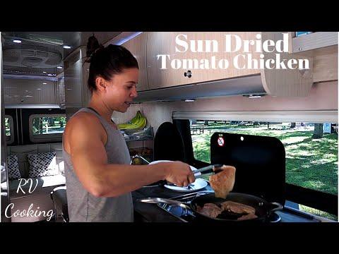 Sun Dried Tomato Chicken | RV Cooking & Healthy RV Recipes #1