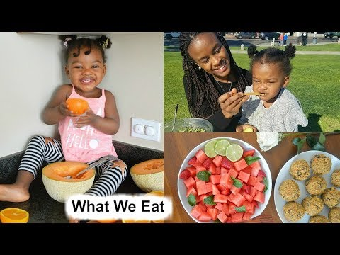 What my Vegan Toddler and I Eat in a Day [High Raw Vegan]