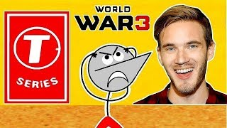 T Series Vs Pewdiepie | Angry Prash