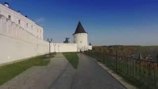 Весь Тобольск пешком за 4 минуты Tobolsk walk timelapse