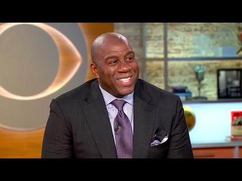 Magic Johnson on new Lakers role, his business mentors