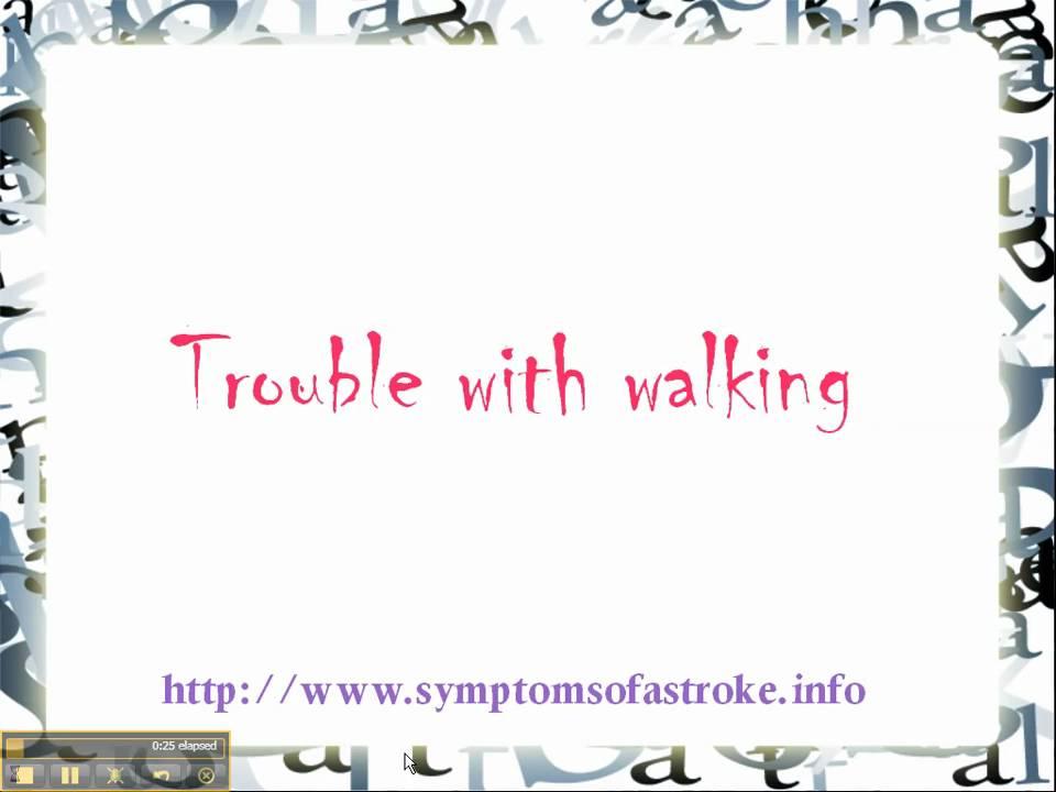 Symptoms Of A Stroke 4