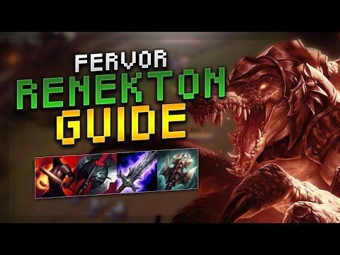 SoloRenektonOnly FERVOR RENEKTON GUIDE SEASON 7! - League of Legends Guide!