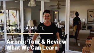 Gambar cover Airbnb Tour and Review Sanibel island Florida