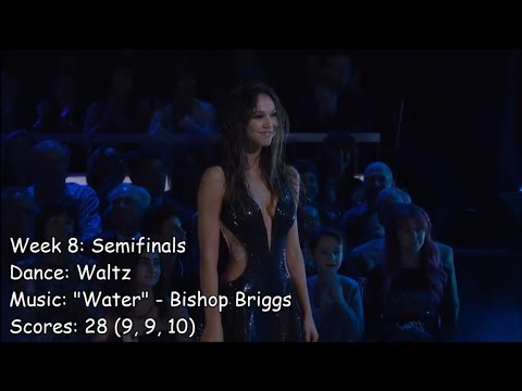 Alexis Ren - All Dancing With The Stars Performances