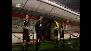 Oh Johnny (begin 2e helft) tijdens Ajax - Twente