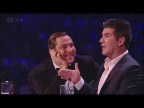 "Simon Cowell and David Walliams ""BROMANCE"""