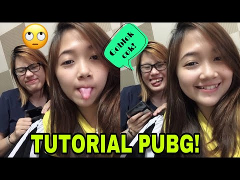 TUTORIAL PUBG With DELLA!😂 Ngakak!