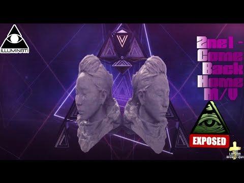 2NE1 - COME BACK HOME M/V Illuminati Exposed
