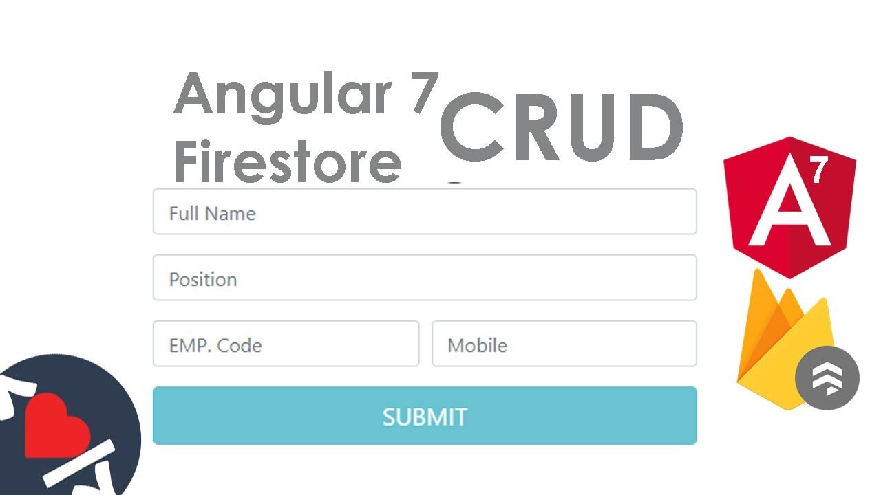 Angular 7 CRUD with Firestore