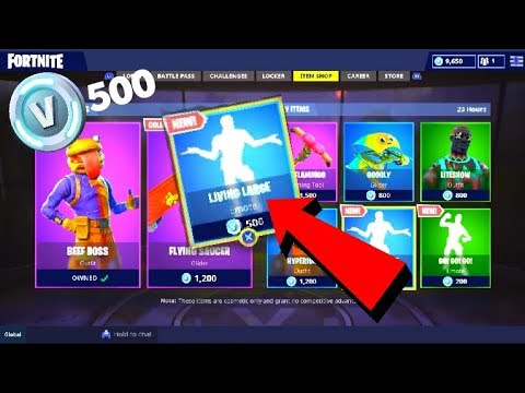 ALL 500 VBuck *BLUE* Emotes! (August 2018)