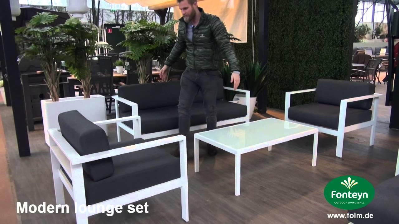 Gartenmöbelset loungeset modern youtube