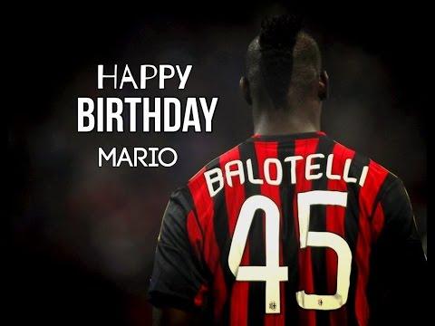 Happy 25th Birthday Super Mario Balotelli!