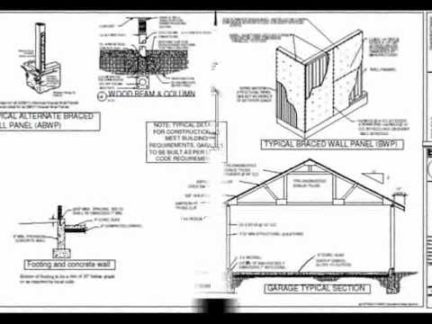 Full download download rv garage plans 24 x32 3 car garage for Garage plans free download