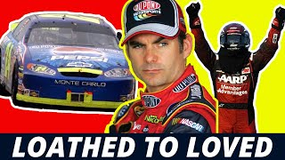 Gambar cover Loathed to Loved: Jeff Gordon's Reception Story in NASCAR