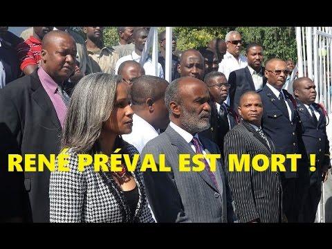 René Préval est mort!