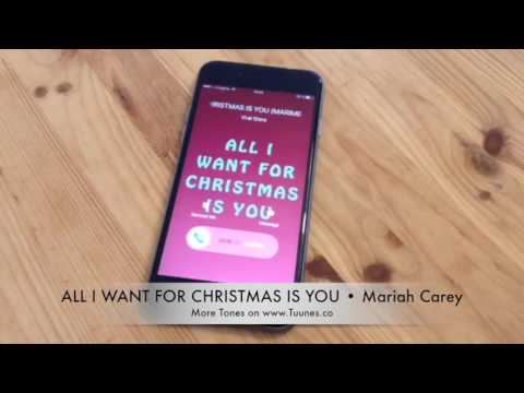 Mariah Carey All I Want For Christmas Is You Tribute Marimba Remix Ringtone • For iPhone and Android