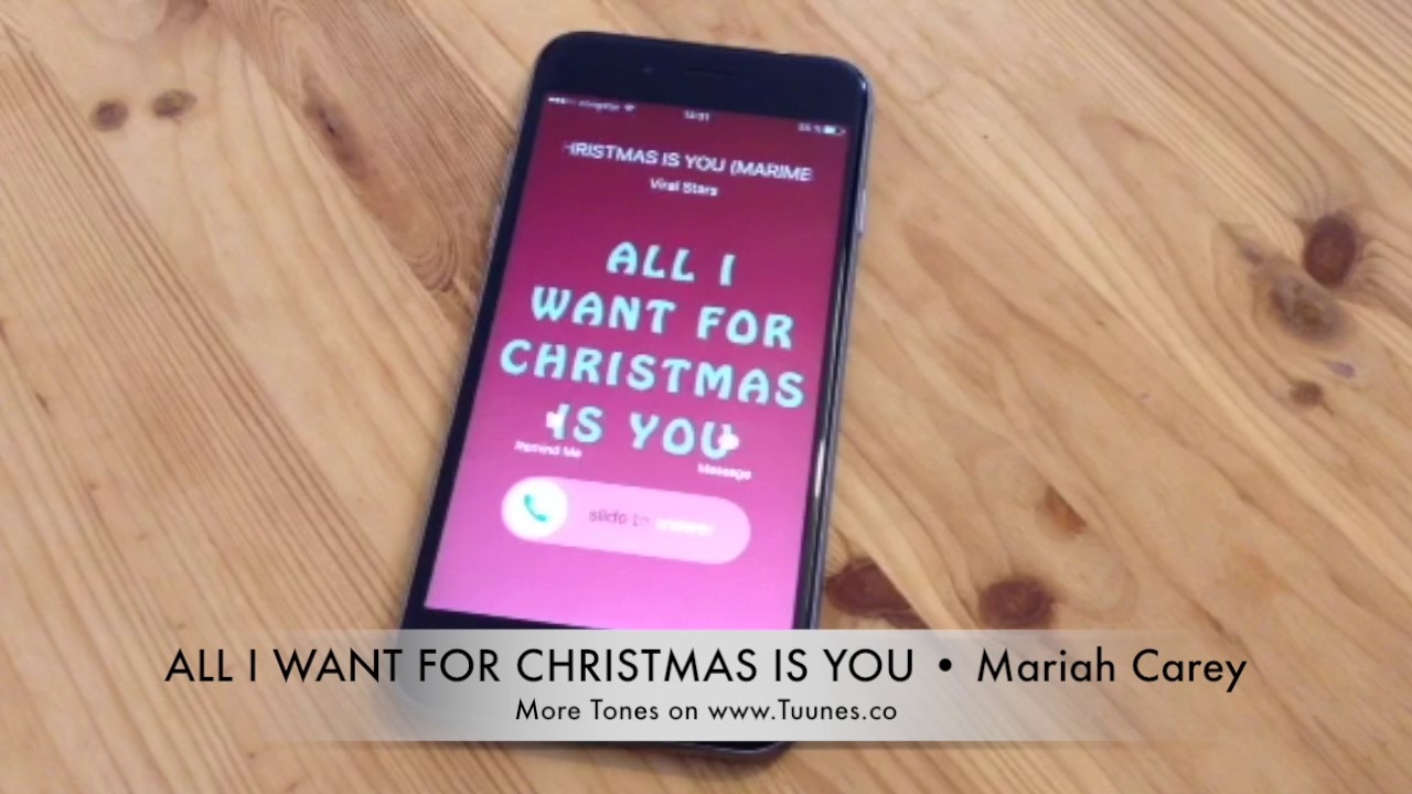 Free All I Want For Christmas ringtone by rladjamlaaha
